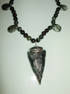 My Spirit Essence Necklace with Arrowhead from Eric (Walking Flame)