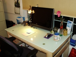 My New Perspective - A Clean Desk too!