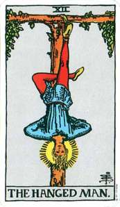 The Hanged Man - From the Rider Waite Tarot