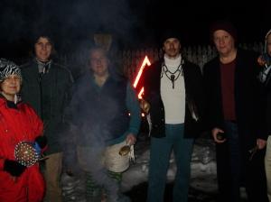 Munay-Ki Students At the Fire